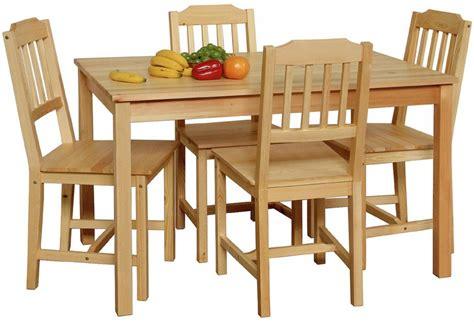 Esstisch Stühle Holz by Essgruppe Kiefer Massiv Bestseller Shop F 252 R M 246 Bel Und