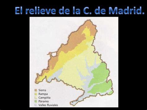 i comunidad de madrid industriamadridccooes relieve comunidad de madrid
