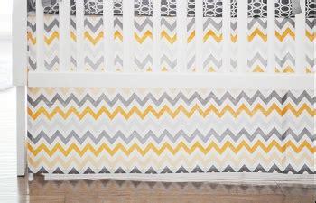 Yellow Chevron Crib Skirt by Yellow Crib Skirt Yellow Crib Skirts Yellow Crib Bed Skirt