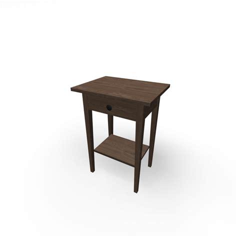 Hemnes Ikea Nightstand Ikea Hemnes Nightstand Gray Brown Nazarm