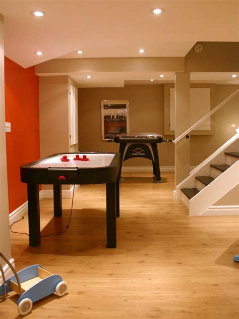 simple floor basement design ideas hgtv