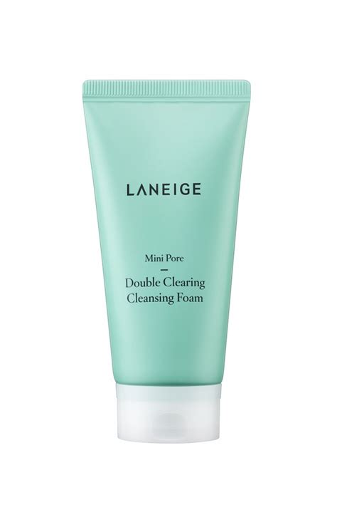 Laneige Pore Cleansing clear up clogged pores with laneige mini pore line per my