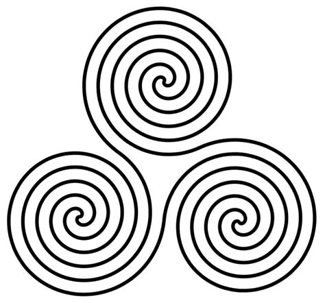 Meaning of the Triskele, Triple Spiral or Triskelion in