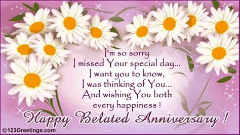 Wedding Wishes Belated by Anniversary Wishes Belated Wishes Greetings Pictures