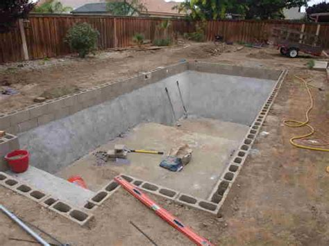 how to build a pool in your backyard diy inground pools kits house ideas pinterest