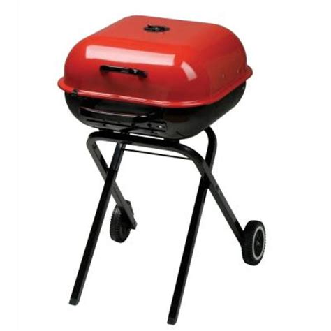 Small Bbq Grills Home Depot Aussie Walk A Bout Portable Charcoal Grill 4200 0a236