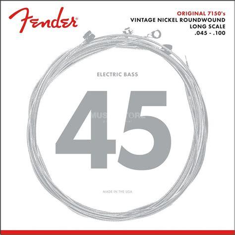 Senar Gitar Bass Fender 7150 Ml fender original 7150ml bass guitar st rings