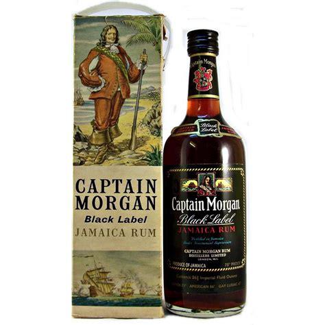 captain jamaican rum captain black label jamaica rum 75 proof