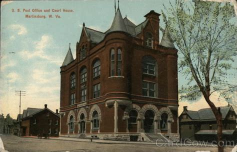 Post Office Martinsburg Wv by U S Post Office And Court House Martinsburg Wv Postcard