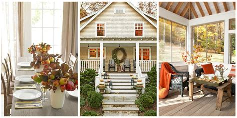 Beautifully Decorated Homes Pictures 47 Easy Fall Decorating Ideas Autumn Decor Tips To Try