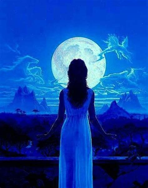 moonlight blue color goodnight blue blue the collective color of the spirit