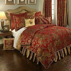 Gold Duvet Cover King Buy Austin Horn Classics Verona King Duvet Cover In Red