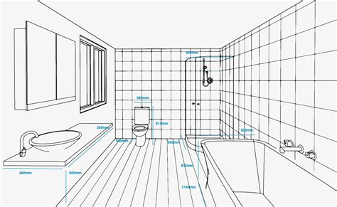 standard size for bathroom standard bathroom measurements refresh renovations