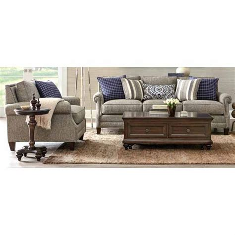 hm richards sectional hm richards 174 desiree 94 quot sofa with nailhead accents