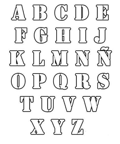 imagenes de letras lindas para dibujar letras para colorear