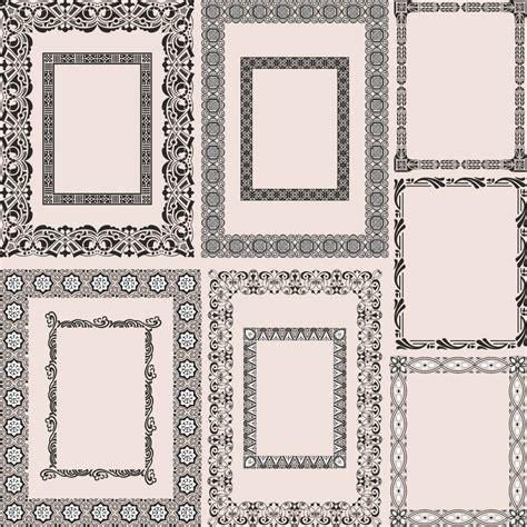 download design pattern framework 4 5 classic pattern framework 05 vector free vector 4vector