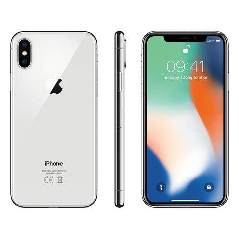 iphone 256gb iphone x 256gb silver ivizi