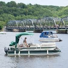 pontoon boat rental twin cities mn stillwater attractions small town getaway twin cities