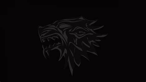 wallpaper game of thrones logo 4k wolf wallpaper wallpapersafari