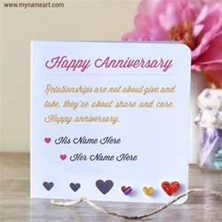 wedding wishes editing anniversary wishes for couples name edit wishes greeting card