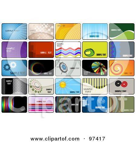 digital printing business card template digital collage of business card template designs posters