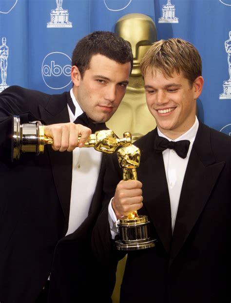film oscar matt damon ben affleck and matt damon oscar winners for screenplay