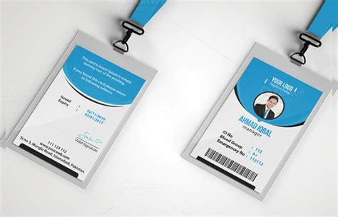 fbi id card template psd 12 id card psd template psd format