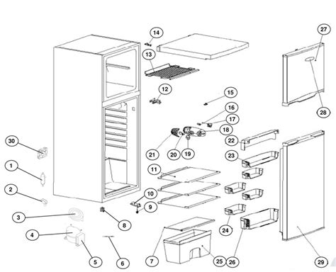 caravansplus spare parts diagram waeco coolmatic hdc