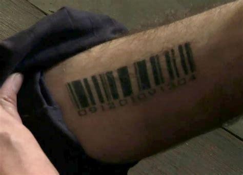barcode tattoo main characters barcode terminator wiki fandom powered by wikia