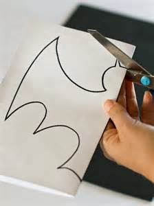 Halloween Paper Decorations Printable Halloween Bat Decorations Craft For Kids Hgtv