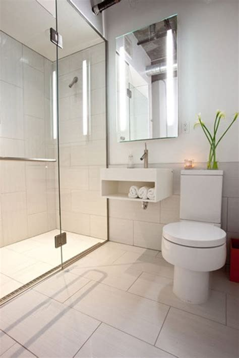 White Bathroom Floor Tile Ideas 24 Large White Bathroom Tiles Ideas And Pictures