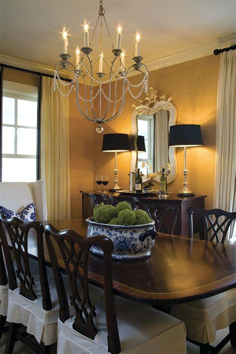 dining room pendants cozy luxe dining room with gold pendant light and orange
