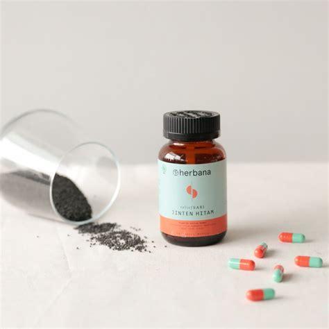 Herbana Jinten Hitam 60 Kapsul herbana relief sari jinten hitam herbana
