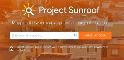 google project sunroof google s project sunroof puts solar energy within reach