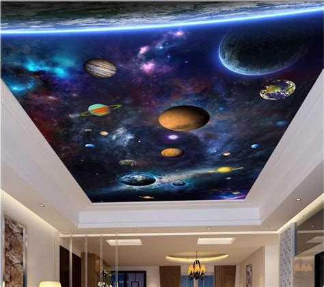 custom photo  ceiling murals wallpaper space