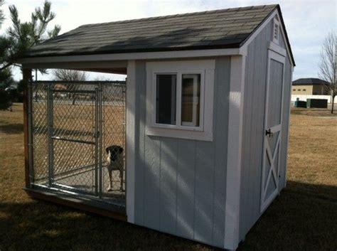 insulated dog kennels ideas  pinterest