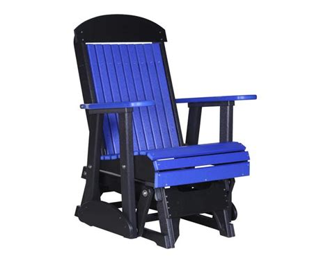 blue glider chair 2 foot classic poly glider poly gliders sales prices