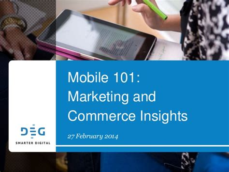 insights mobile mobile marketing and commerce insights