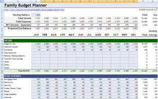 Excel Family Budget Template Best Photos Of Budget Planner Template Excel Personal