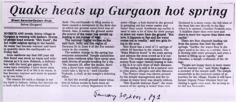 Newspaper Report Writing On Earthquake In Gujarat by Newspaper Articles Conversations