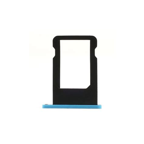 Murah Sim Card Tray Holder For Iphone 5c Green nano sim card tray holder replacement for iphone 5c baby blue