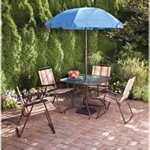 Fred Meyer Outdoor Patio Furniture Walmart Value Of The Day 6 Piece Patio Set For Just 89