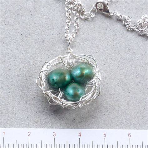 Handmade Necklaces Australia - bird s nest pendant handmade jewellery australia