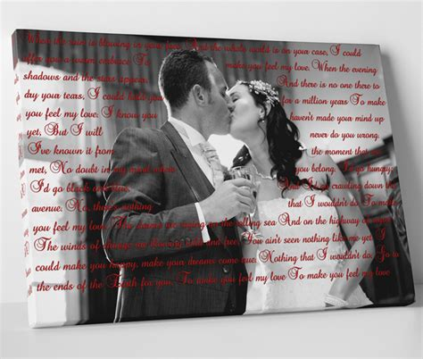 Wedding Song On Canvas by Wedding Canvas Print Memories On Canvas Series 5