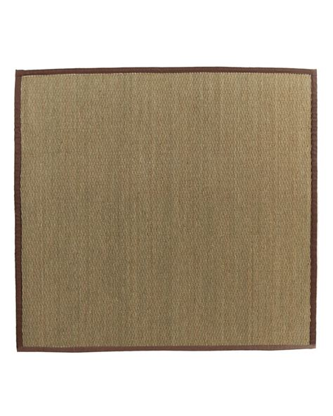home depot seagrass rug lanart rug seagrass bound brown 39 5 ft x 5 ft area rug the home depot canada