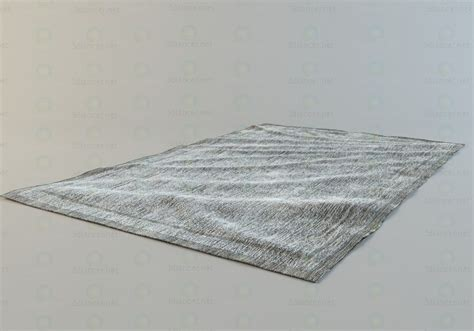 3d model rug 3d model the carpet with a small pile for free