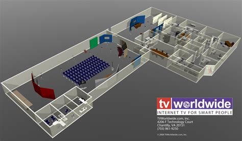 animation layout and design tv worldwide to open america s largest internet tv studio