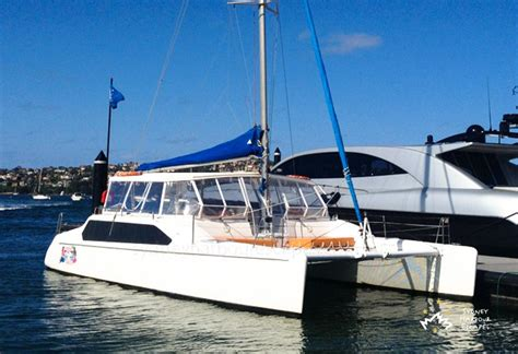 catamaran hire sydney rose bay tiger 2 boat hire australia day cruise sydney harbour