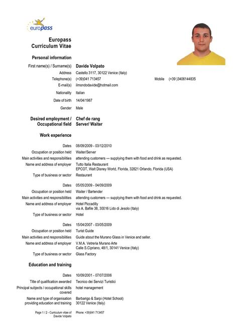 Cv On Englisch The 25 Best Ideas About Europass Cv On Design Cv Curriculum And Creative Cv Template