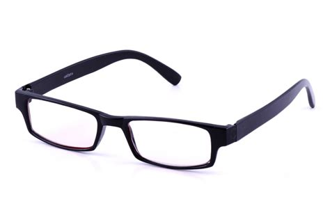 computer glasses for light sensitivity california accessories rectangle plastic black frame